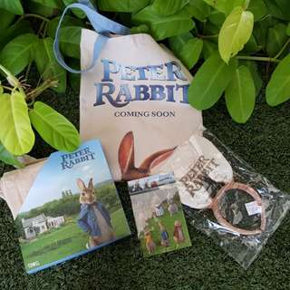 Peter Rabbit Exclusive Movie Goodie Bag