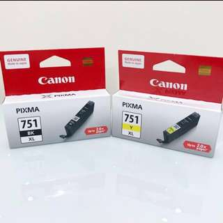 Canon 751 Ink (XL)