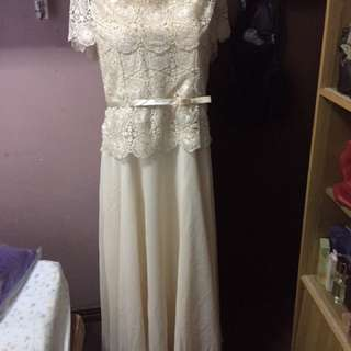 For Rent Mother /ninang Gown