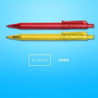 WILAYAH - Plastic Ball Pen + Printing