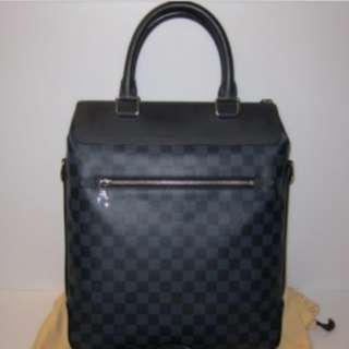 Louis Vuitton Damier Cobalt Greenwich Messenger Bag Excellent