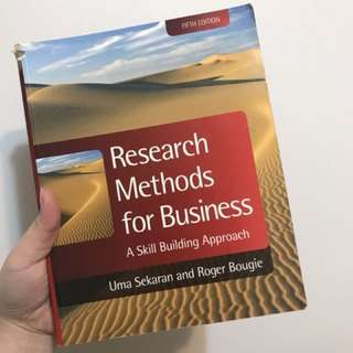 Research methods of business #出清課本