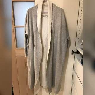 Initial long coat
