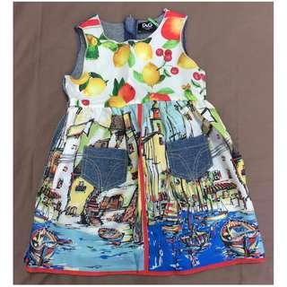D&G Outdoor Dress (Size: 12-18 Months) Dolce & Gabbana