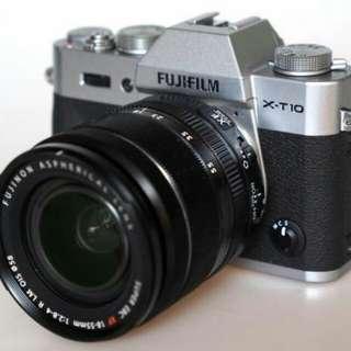 Kredit Kamera Fuji Film X-T10