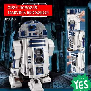 For Sale Star Wars R2D2 UCS Building Blocks Toy