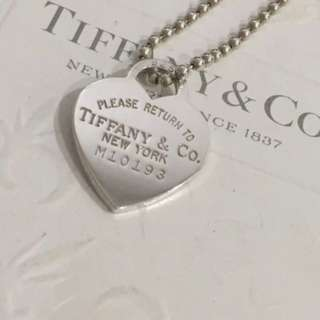 Authentic Tiffany & Co Return To Tiffany Large Heart Tag Long Necklace