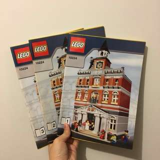 [Sold] Lego 10224 town hall