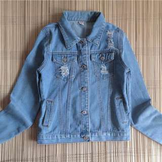 Soft Maong Jacket