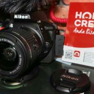 Kredit Kamera Nikon D5500