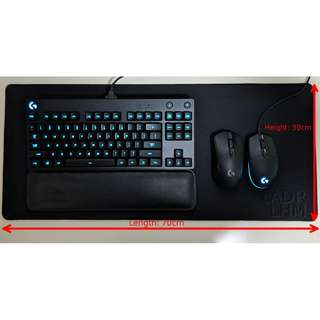Mouse Keyboard Pad / Mat Small to Large sizes