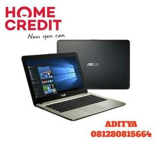 Kredit Laptop Asus X441NA Proses Cepat