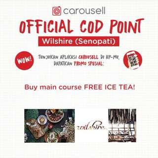 Free Ice Tea @ Wilshire