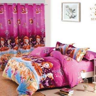 Premium Character Bed Sheet 4 in 1 Set (Sofia K11)