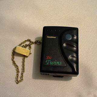 傳呼機 Goldstar LG Twins beeper pager with chain