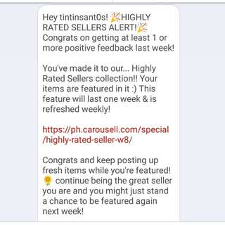 Highly Rated Seller!!! 🎉🎊🎇🎆✨🥂😊