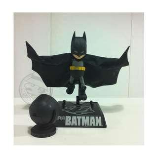 合金蝙蝠俠BATMAN模型迷你手辦關節可動人偶