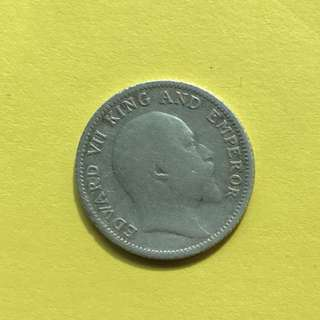Old Coin (1907) British India