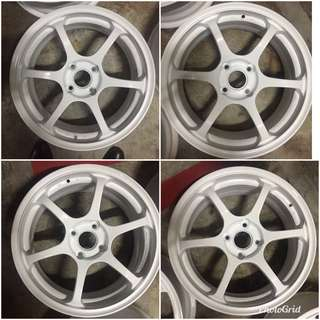 "Advan Racing RG2 RGII 16"" 4x100 pcd"