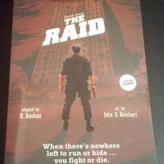 Komik The RAID