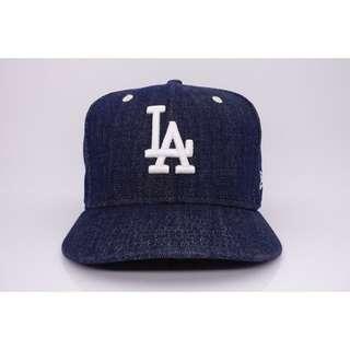 【NEW ERA】MLB 洛杉磯道奇 LA 深藍單寧 SNAPBACK 限量後扣帽