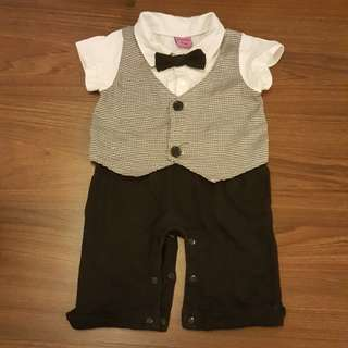 Boy formal romper