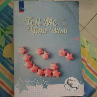 Tell Me Your Wish (no nego)