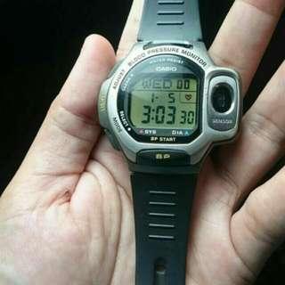 Casio blood pressure monitor