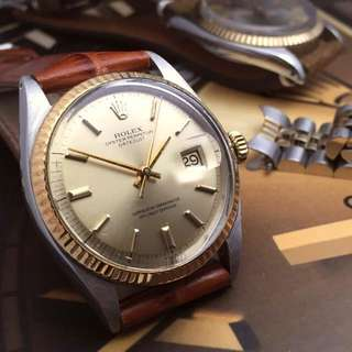 SOLD-           36mm Men's Rolex Datejust Ref.1601