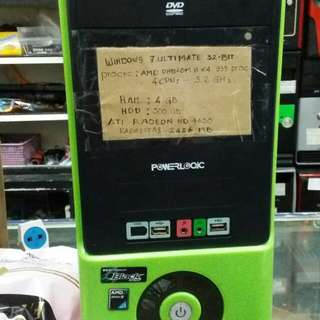 CPU Amd Phenom II x 4 ram 4GB hdd 500GB setara core i5