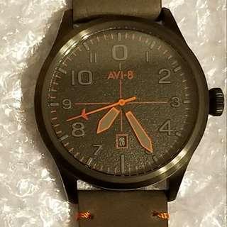 英國 AVI 8 系列 手錶