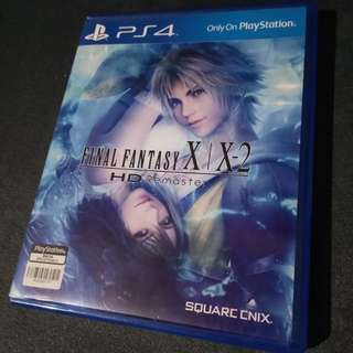 Final Fantasy X/X2 PS4 Game