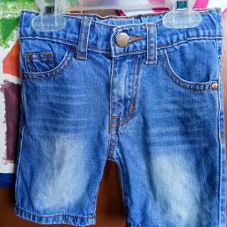 Justees short size 2T