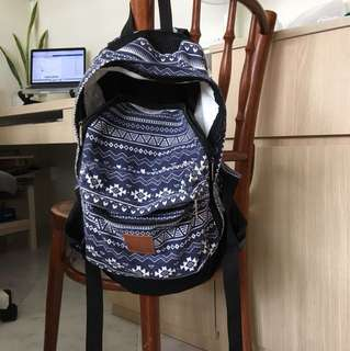 Tribal Backpack Canvas From Bangkok