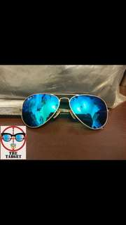 ray ban aviator flash lenses polarized rb3025 112/4p 58mm size discount rayban brand new original full packages discount