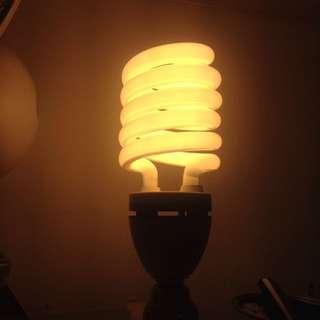 🚚 東亞岱亞 75WL220V螺旋燈泡(含燈座、線材長5米)