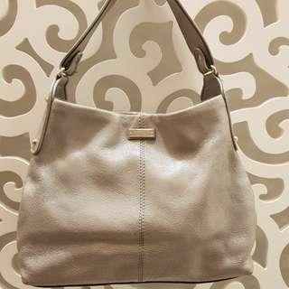 Kate Spade Grey Hobo Bag