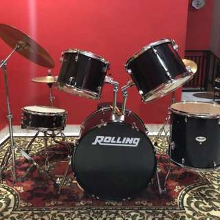 Drum set Rolling (bisa nego)