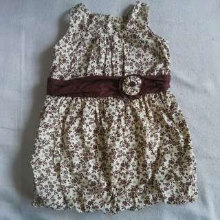 Bubble Dress 1-2 y/o