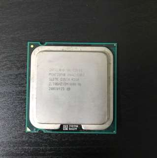Intel CPU E5400 Dual-Core 2.7GHZ/2M