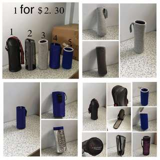 (BN)Water Bottles Protected Pouch