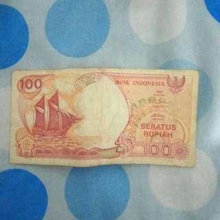 Jual Uang Rp100 lama