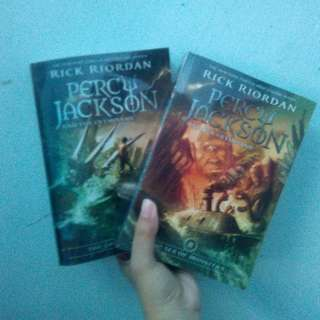 Percy Jackson Series [300 for both]