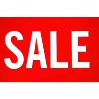 Repriced! Sale! Markdown items!