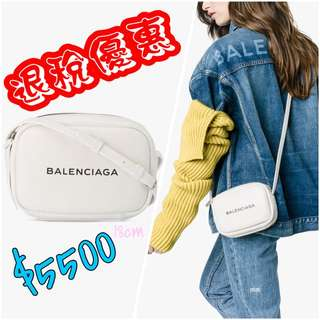 Balenciaga camera bag 18cm