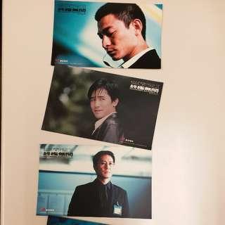 無間道3 postcard  (4張)