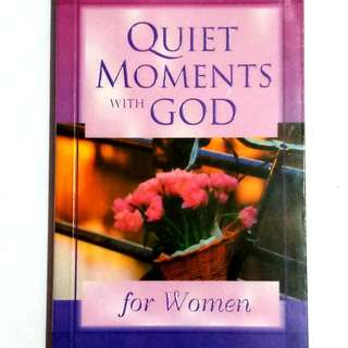 Quiet Moments With God (for women)