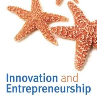 Innovation and Entrepreneurship 3rd edition