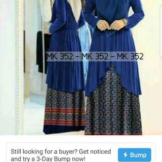 Muslimah long dress