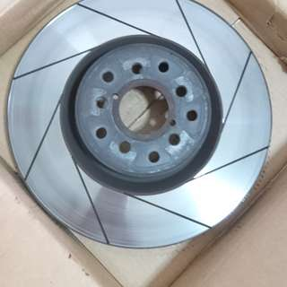 Brembo BBK 330mm Slotted Rotors